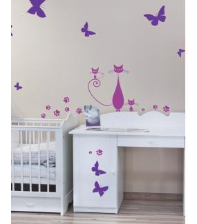 Stickers-13-papillons-chambre-bébé-enfant-cuisine-salle-de-bains-salon-adhésif-teinté-dans-la-masse-26-couleurs-au-choix-découpé-mural-ou-vitres-décoration-intérieure-DECO-VITRES