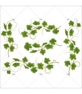Sticker-frises-feuilles-de-vigne-et-grappes-raisins-vitrophanie-décoration-vitrine-cave-caviste-bar-à-vins-restaurant-supermarché-électrostatique-sans-colle-repositionnable-réutilisable-DECO-VITRES