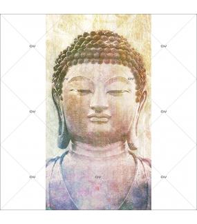 Lé-de-papier-peint-Bouddha-géant-Ambiance-zen-Asie-décoration-murale-intérieure-DECO-VITRES