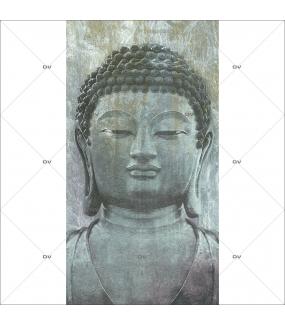 Lé unique papier peint épais - Format 127 x 250 cm - Impression quadrichromie haute qualité encres écologiques latex