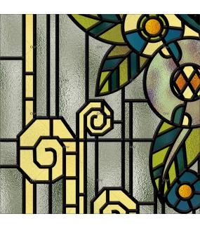 gros-plan-sticker-vitrail-art-deco-retro-vintage-fleurs-vitrophanie-électrostatique-ou-adhésif-décoration-fenêtres-DECO-VITRES
