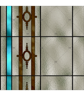 Sticker-vitrail-art-nouveau-retro-vintage-acanthes-vitrophanie-électrostatique-ou-adhésif-décoration-fenêtres-DECO-VITRES