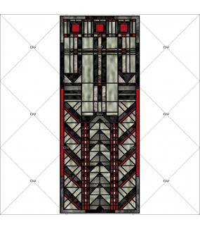 Sticker-vitrail-art-deco-retro-vintage-géométrique-vitrophanie-électrostatique-ou-adhésif-décoration-fenêtres-DECO-VITRES