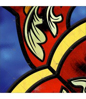 Sticker-vitrail-ancien-retro-médiéval-vintage-vitrophanie-électrostatique-ou-adhésif-décoration-fenêtres-DECO-VITRES