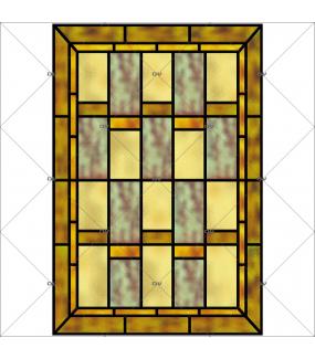 Sticker-vitrail-géométrique-vintage-retro-vitrophanie-électrostatique-ou-adhésif-décoration-fenêtres-DECO-VITRES