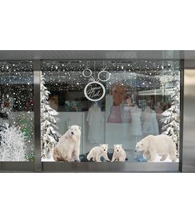Sticker-frise-de-flocons-blancs-effey-dépoli-givré-neige-paysage-hiver-entourage-vitrophanie-décoration-vitrine-noël-électrostatique-sans-colle-repositionnable-réutilisable-DECO-VITRES