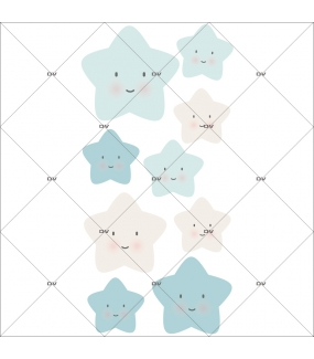 sticker-chambre-bebe-etoiles-rieuses-bleu-enfant-garcon-tissu-adhesif-enlevable-encres-ecologiques-DECO-VITRES