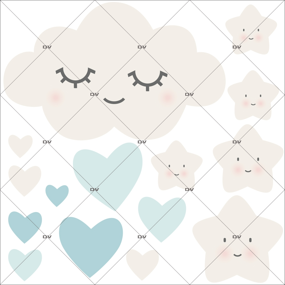 sticker-chambre-bebe-nuage-doux-reve-coeurs-bleu-enfant-garcon-tissu-adhesif-enlevable-encres-ecologiques-DECO-VITRES