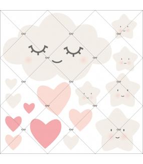 sticker-chambre-bebe-nuage-doux-reve-coeurs-rose-enfant-fille-tissu-adhesif-enlevable-encres-ecologiques-DECO-VITRES