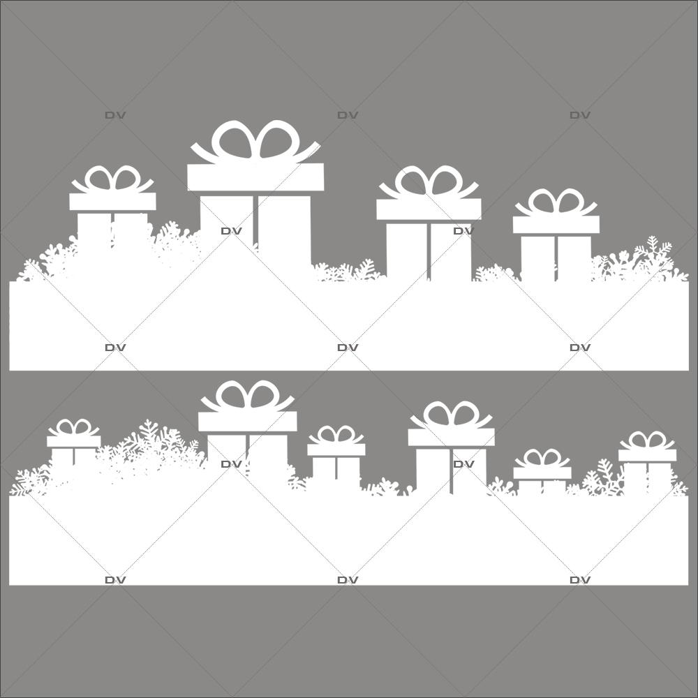 sticker-frises-de-cadeaux-et-cristaux-blancs-vitrine-noel-electrostatique-vitrophanie-sans-colle-DECO-VITRES