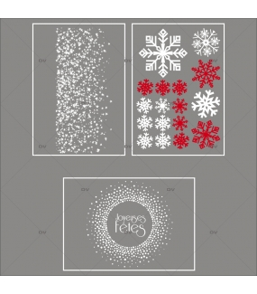 lot-promotionnel-3-stickers-vitrine-noel-etincelant-electrostatique-sans-colle-repositionnable-etoiles-cristaux-flocons-DECO-VITRES-KIT13