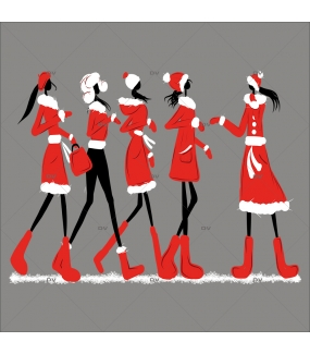 sticker-mannequins-shopping-sports-d-hiver-fashion-noel-electrostatique-sans-colle-DECO-VITRES-MN4