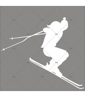 sticker-skieur-sports-hiver-blanc-noel-vitrine-electrostatique-vitrophanie-sans-colle-DECO-VITRES-SKI1