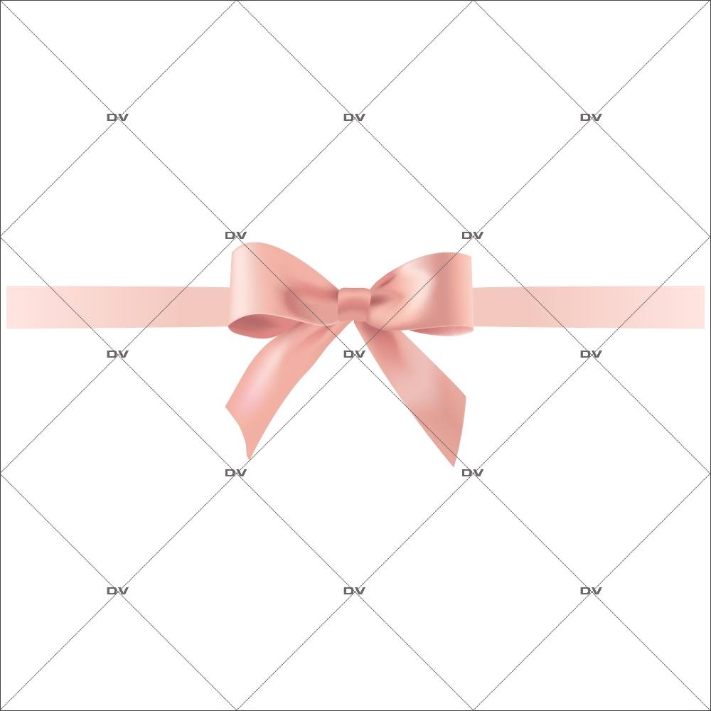 sticker-noeud-ruban-cadeau-rose-poudre-boudoir-romantique-vitrine-noel-electrostatique-vitrophanie-sans-colle-DECO-VITRES-NC11