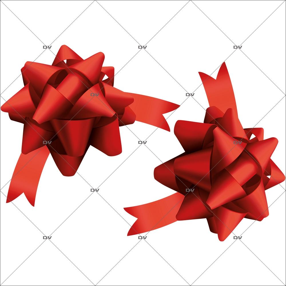 sticker-noeuds-bolduc-rouges-vitrine-noel-electrostatique-vitrophanie-sans-colle-DECO-VITRES-NC10