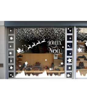 vitrine-noel-decoration-etoiles-traineau-sapins-blancs-vitrophanies-noel-electrostatique-sans-colle-stickers-DECO-VITRES