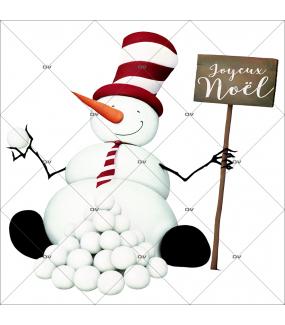 sticker-bonhomme-de-neige-retro-nez-carotte-pancarte-joyeux-noel-vitrine-noel-electrostatique-vitrophanie-sans-colle-DECO-VITRES-BN11