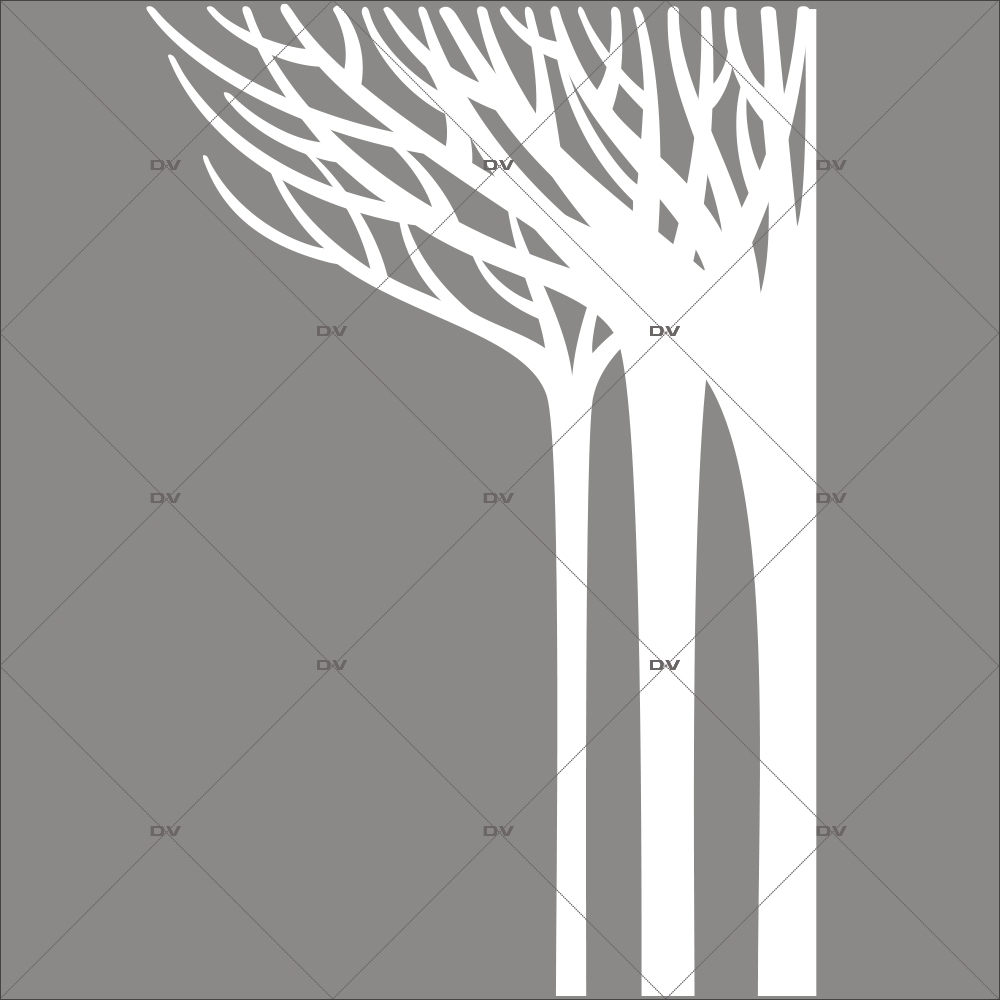 sticker-geant-foret-d-angle-arbres-givres-blancs-noel-vitrine-electrostatique-vitrophanie-sans-colle-DECO-VITRES-ARM11D