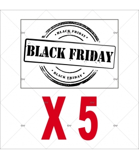 Lot-promotionnel-de-5-stickers-labels-Black-Friday-noirs-vitrophanies-electrostatiques-DECO-VITRES-PACK18