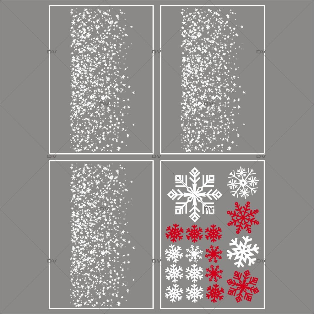 lot-promotionnel-4-stickers-vitrine-noel-etincelant-electrostatique-sans-colle-repositionnable-etoiles-cristaux-DECO-VITRES-KIT15