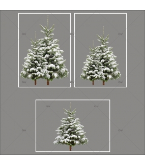 lot-promotionnel-3-stickers-vitrine-noel-nature-sapins-enneiges-hiver-electrostatique-sans-colle-repositionnable-DECO-VITRES-KIT78