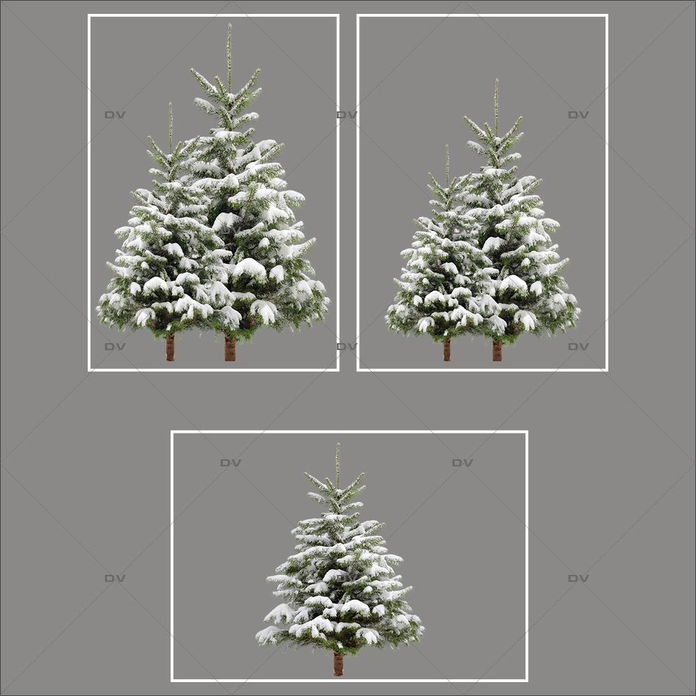 lot-promotionnel-3-stickers-vitrine-noel-nature-sapins-enneiges-hiver-electrostatique-sans-colle-repositionnable-DECO-VITRES-KIT78