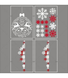 Lot-promotionnel-4-stickers-vitrine-noel-iconique-boule-geante-cristaux-frises-de-cadeaux-electrostatique-sans-colle-repositionnable-DECO-VITRES-KIT38