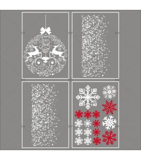 Lot-promotionnel-4-stickers-vitrine-noel-iconique-boule-geante-cristaux-frises-etoiles-electrostatique-sans-colle-repositionnable-DECO-VITRES-KIT39