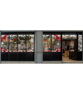 vitrine-noel-decoration-rouge-et-blanc-cristaux-noeud-cadeaux-vitrophanies-noel-electrostatique-sans-colle-stickers-DECO-VITRES
