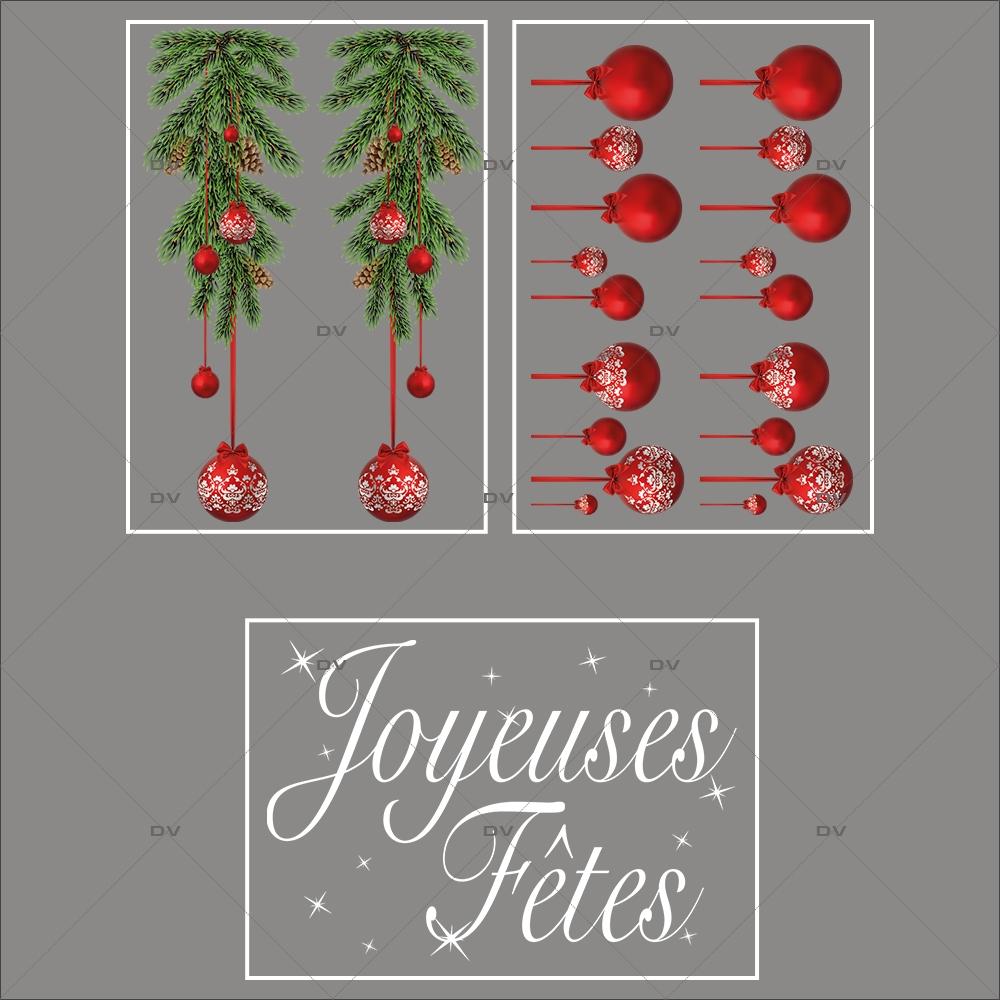 lot-promotionnel-3-stickers-vitrine-noel-intemporel-frises-boules-rouges-suspensions-sapin-texte-joyeuses-fetes-electrostatique-sans-colle-repositionnable-DECO-VITRES-KIT2