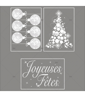 lot-promotionnel-3-stickers-vitrine-noel-opalescent-boules-geantes-sapin-cristaux-texte-joyeuses-fetes-electrostatique-sans-colle-repositionnable-DECO-VITRES-KIT6