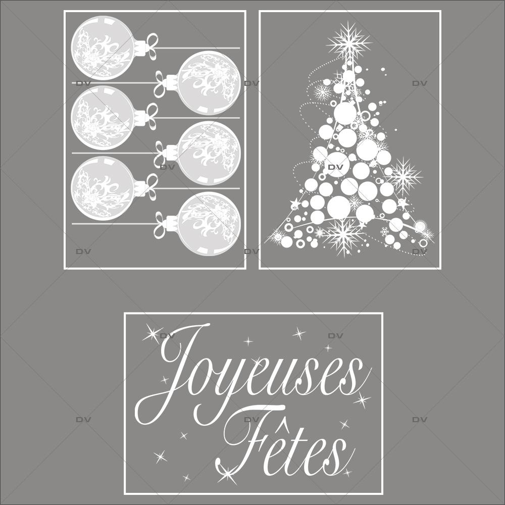 lot-promotionnel-3-stickers-vitrine-noel-opalescent-boules-geantes-sapin-cristaux-texte-joyeuses-fetes-electrostatique-sans-colle-repositionnable-DECO-VITRES-KIT6