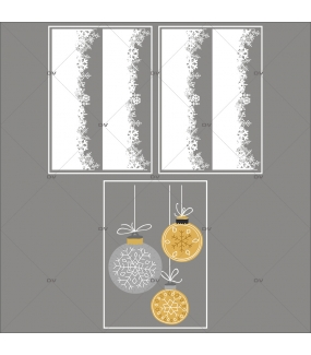 lot-promotionnel-3-stickers-vitrine-noel-espiegle-frises-neige-cristaux-suspensions-boules-de-noel-electrostatique-sans-colle-repositionnable-DECO-VITRES-KIT104