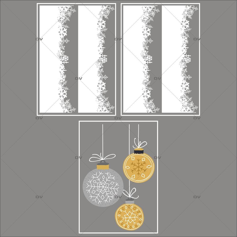 lot-promotionnel-3-stickers-vitrine-noel-espiegle-frises-neige-cristaux-suspensions-boules-de-noel-electrostatique-sans-colle-repositionnable-DECO-VITRES-KIT104