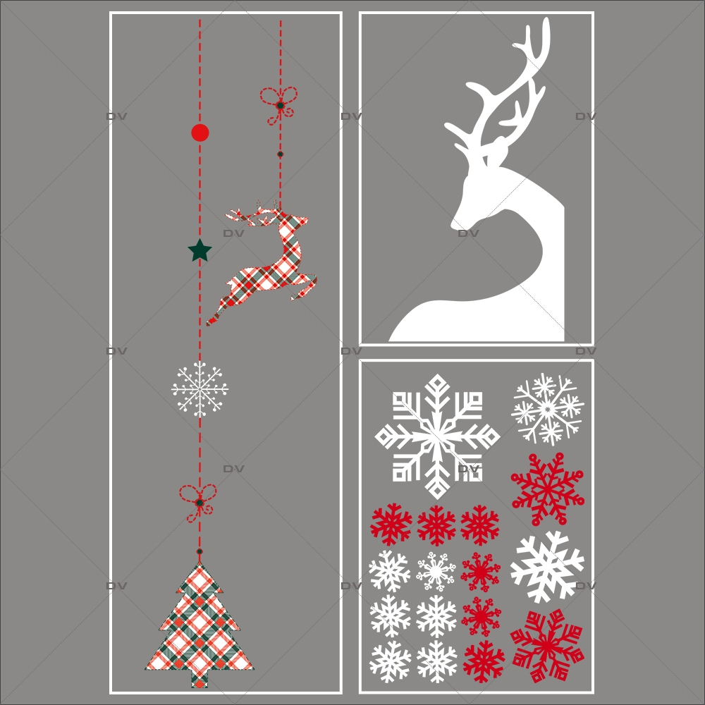 lot-promotionnel-3-stickers-vitrine-noel-ecossais--suspensions-decors-noel-renne-d-angle-cristaux-electrostatique-sans-colle-repositionnable-DECO-VITRES-KIT29