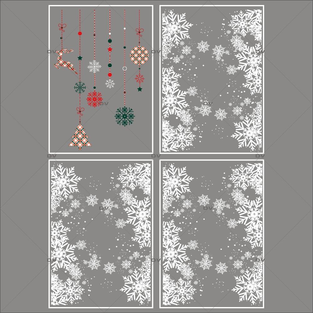 lot-promotionnel-4-stickers-vitrine-noel-ecossais--entourage-vitrine-electrostatique-sans-colle-repositionnable-DECO-VITRES-KIT31