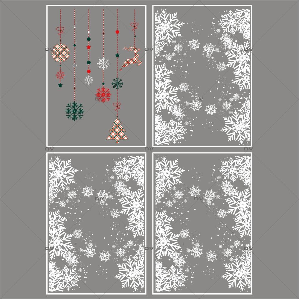 lot-promotionnel-4-stickers-vitrine-noel-ecossais--entourage-vitrine-electrostatique-sans-colle-repositionnable-DECO-VITRES-KIT32