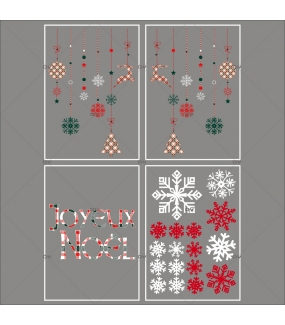 lot-promotionnel-4-stickers-vitrine-noel-ecossais-suspensions-decors-texte-joyeux-noel-cristaux-electrostatique-sans-colle-repositionnable-DECO-VITRES-KIT312