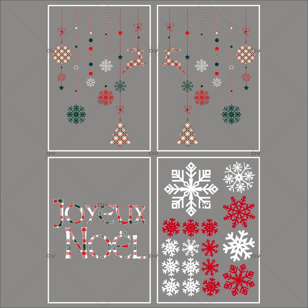 lot-promotionnel-4-stickers-vitrine-noel-ecossais-suspensions-decors-texte-joyeux-noel-cristaux-electrostatique-sans-colle-repositionnable-DECO-VITRES-KIT312