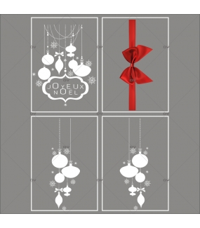 lot-promotionnel-4-stickers-vitrine-noel-elegant-enseigne-joyeux-noel-suspensions-de-boules-et-cristaux-ruban-noeud-cadeau-rouge-electrostatique-sans-colle-repositionnable-DECO-VITRES-KIT50