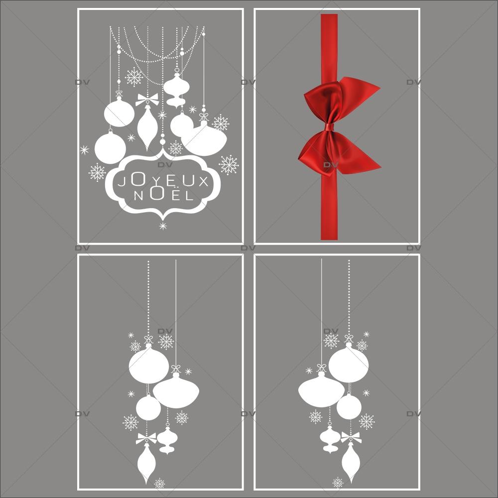 lot-promotionnel-4-stickers-vitrine-noel-elegant-enseigne-joyeux-noel-suspensions-de-boules-et-cristaux-ruban-noeud-cadeau-rouge-electrostatique-sans-colle-repositionnable-DECO-VITRES-KIT50