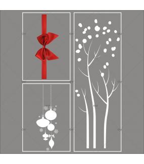lot-promotionnel-3-stickers-vitrine-noel-elegant-arbre-givre-suspensions-de-boules-et-cristaux-ruban-noeud-cadeau-rouge-electrostatique-sans-colle-repositionnable-DECO-VITRES-KIT47