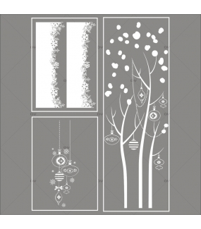 lot-promotionnel-3-stickers-vitrine-noel-delicat-suspensions-de-boules-et-cristaux-frises-de-neige-entourage-de-vitrine-arbre-givre-electrostatique-sans-colle-repositionnable-DECO-VITRES-KIT141