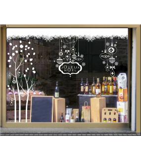 photo-vitrine-stickers-noel-blanc-pur-arbre-boules-enseigne-texte-joyeux-noel-frises-neige-cristaux-flocons-vitrophanie-electrostatique-repositionnable-reutilisable-sans-colle-DECO-VITRES