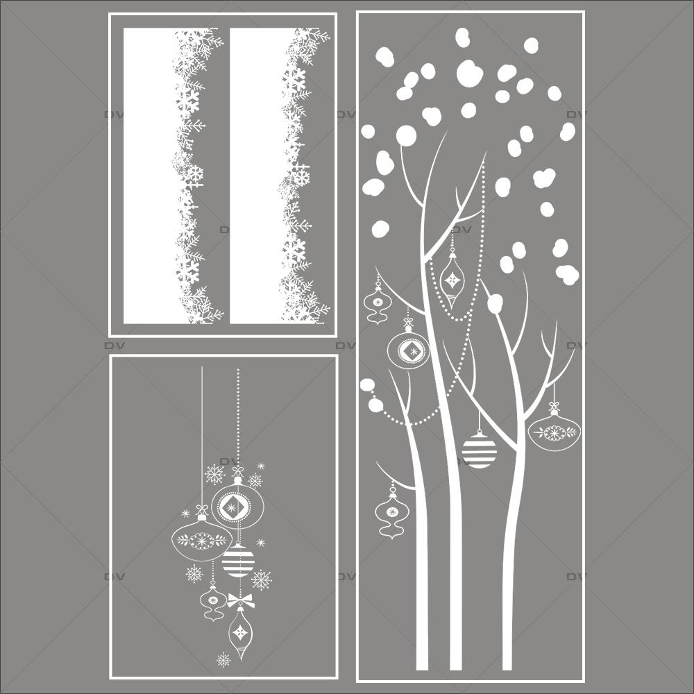 lot-promotionnel-3-stickers-vitrine-noel-delicat-suspensions-de-boules-et-cristaux-frises-de-neige-entourage-de-vitrine-arbre-givre-electrostatique-sans-colle-repositionnable-DECO-VITRES-KIT142