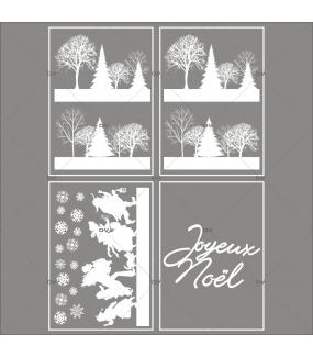 lot-promotionnel-4-stickers-vitrine-noel-shopping-de-noël-cristaux-frises-paysage-de-neige-givre-personnages-texte-joyeux-noel-electrostatique-sans-colle-repositionnable-DECO-VITRES-KIT60