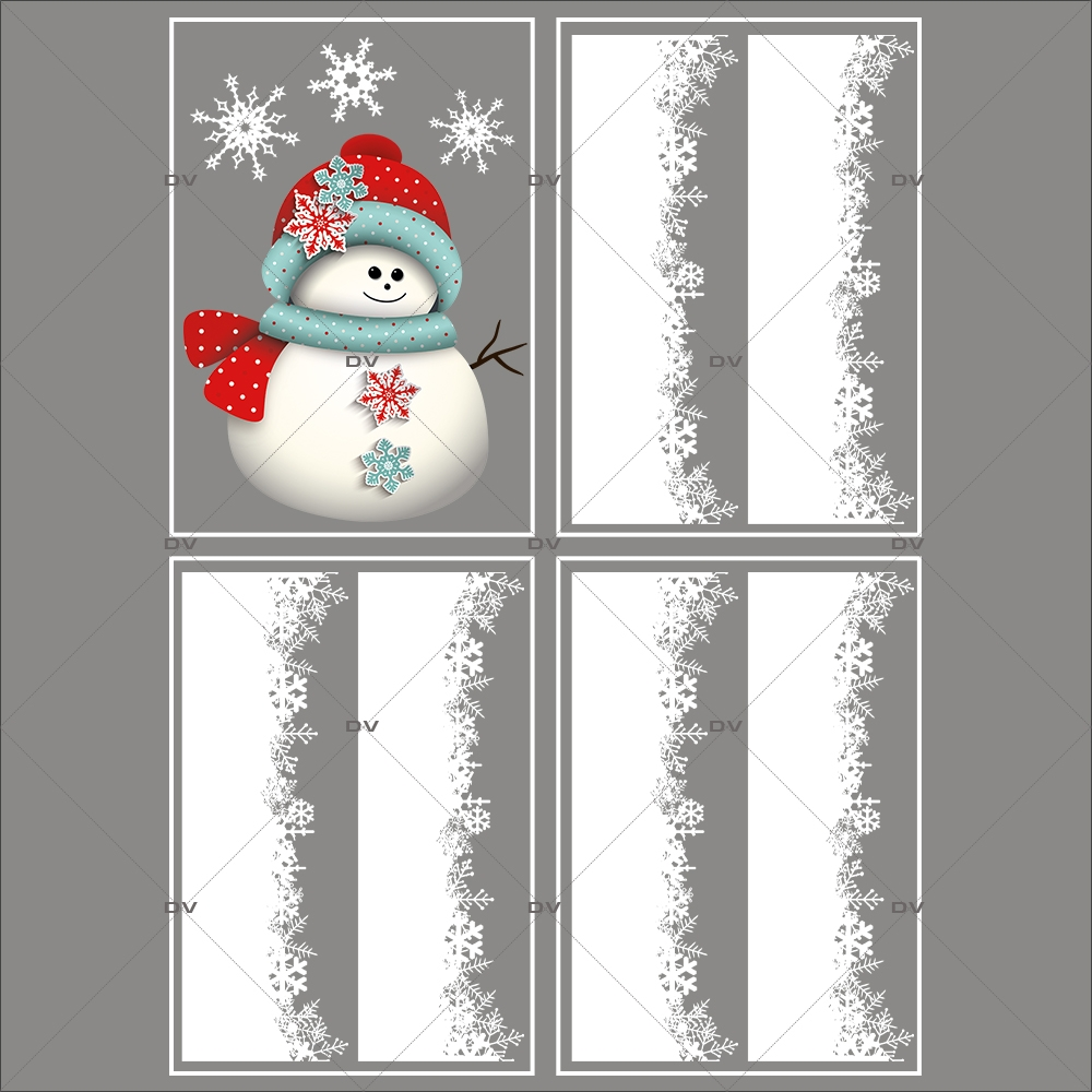 lot-promotionnel-4-stickers-vitrine-noel-scandinave-bonhomme-de-neige-bonnet-et-cristaux-frises-de-neige-entourage-de-vitrine-electrostatique-sans-colle-repositionnable-DECO-VITRES-KIT20