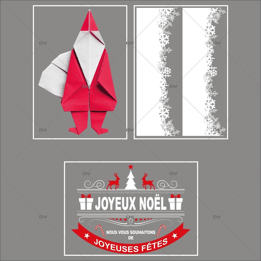 lot-promotionnel-3-stickers-vitrine-noel-origami-cristaux-frises-neige-pere-noel-banniere-joyeux-noel-electrostatique-sans-colle-repositionnable-DECO-VITRES-KIT96