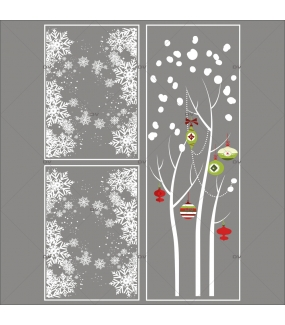 Lot-promotionnel-3-stickers-vitrine-noel-contemporain-arbre-givre-et-boules-rouges-vertes-frises-de-cristaux-electrostatique-sans-colle-repositionnable-DECO-VITRES-KIT118