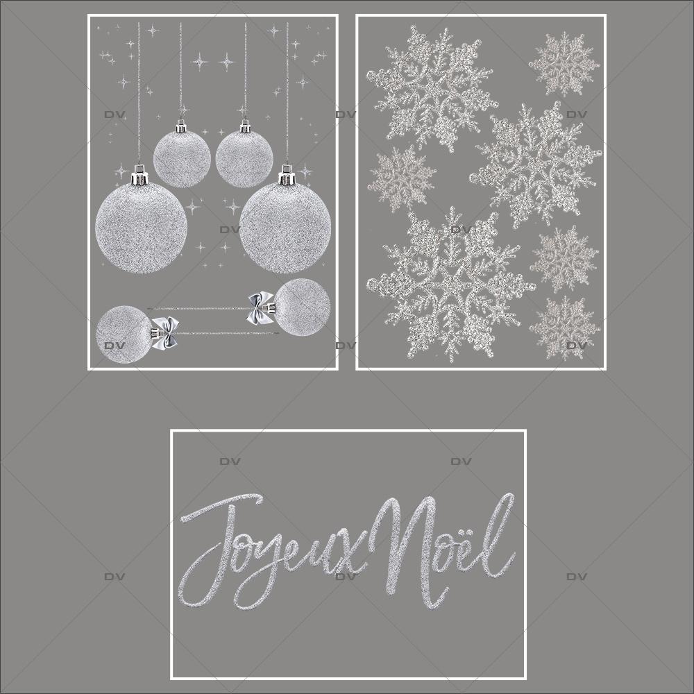 lot-promotionnel-3-stickers-vitrine-noel-argente-frises-boules-argentees-ruban-noeud-cadeau-argent-cristaux-geants-electrostatique-sans-colle-repositionnable-DECO-VITRES-KIT92